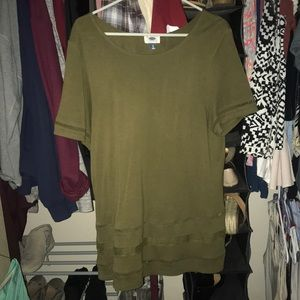 Old navy green tee